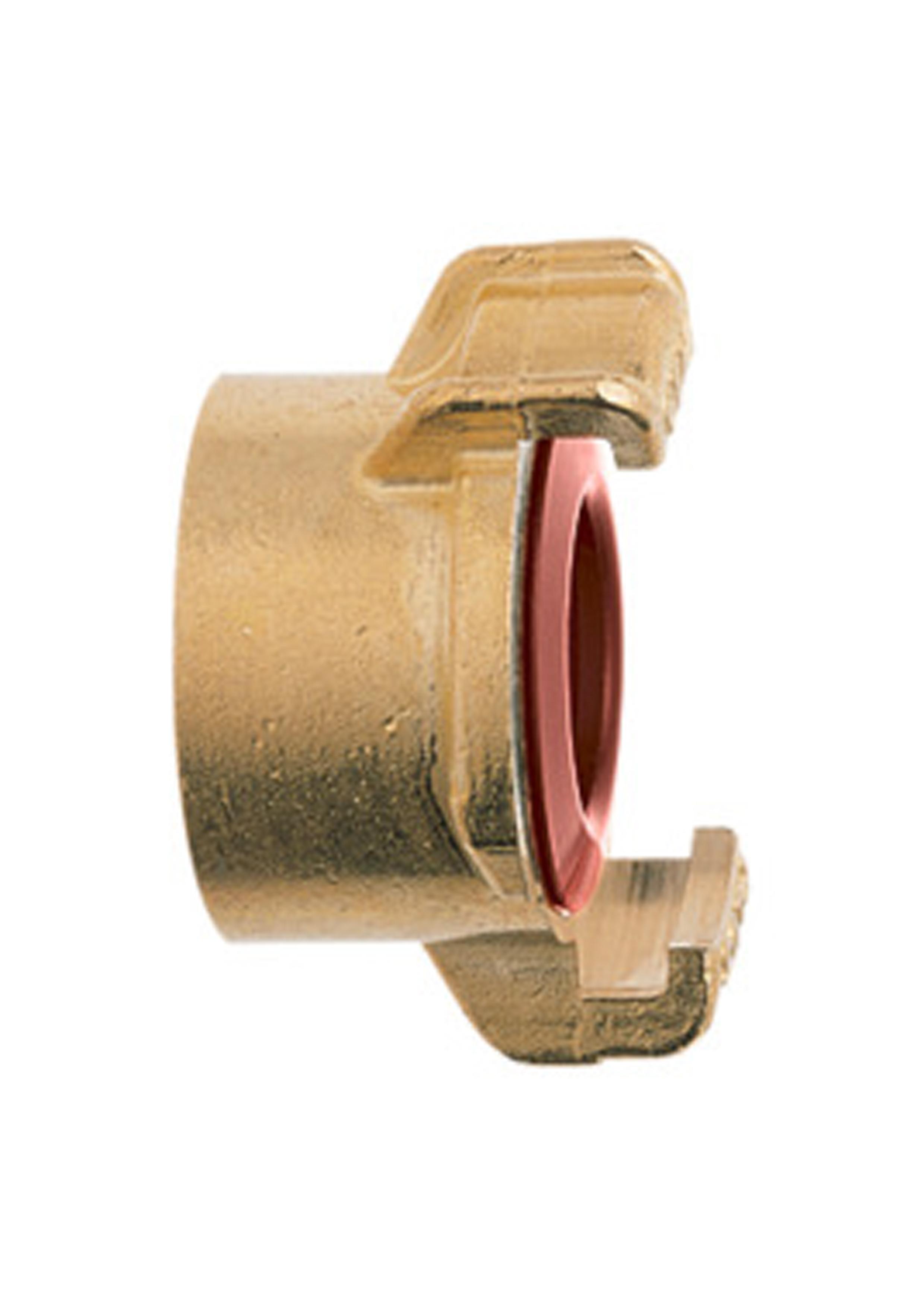 GEKA Plus-pezzo di tubo con acqua stop 1//2-13mm MS DVGW vp550